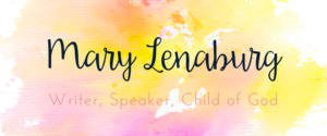 Mary Lenaburg Writer Catholic Speaker Child of God
